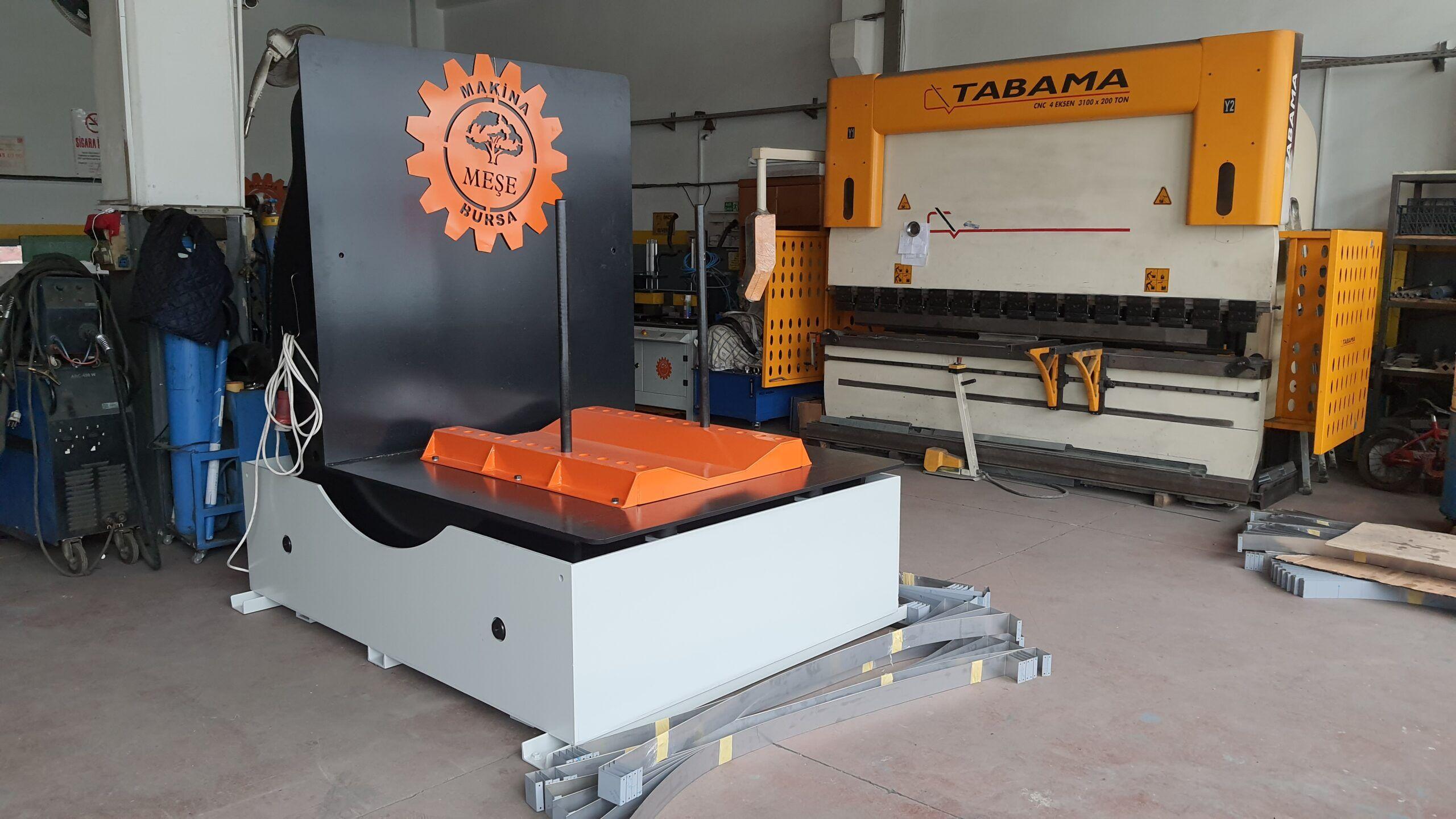 Endüstriyel makina imalatı